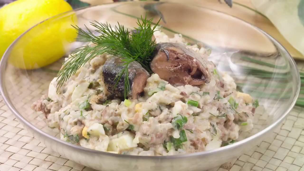 Салат мимоза с рыбными консервами. рецепт с сыром, яйцом, с рисом, с картошкой и без, слои салата | народные знания от кравченко анатолия