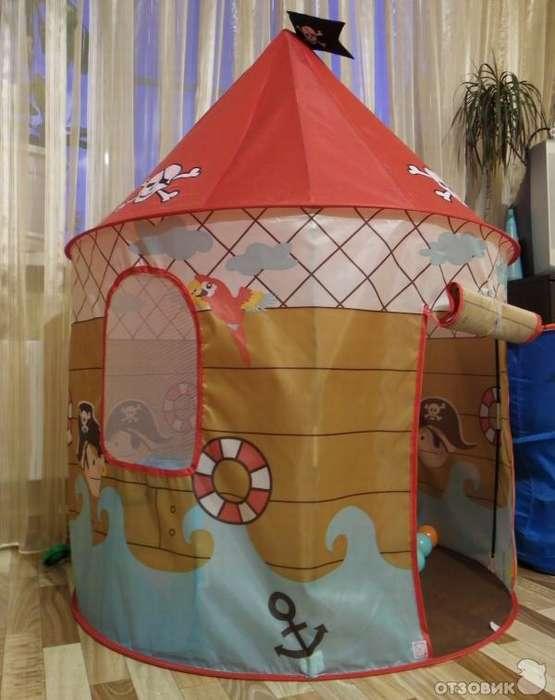 Как сложить детскую палатку? схемы в картинках и видео