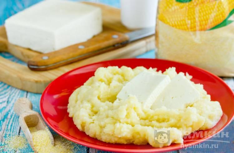Мамалыга рецепт приготовления с фото пошагово