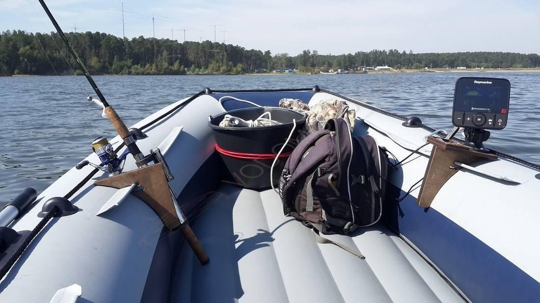 Бортовое крепление для удочки: для лодок пвх, своими руками