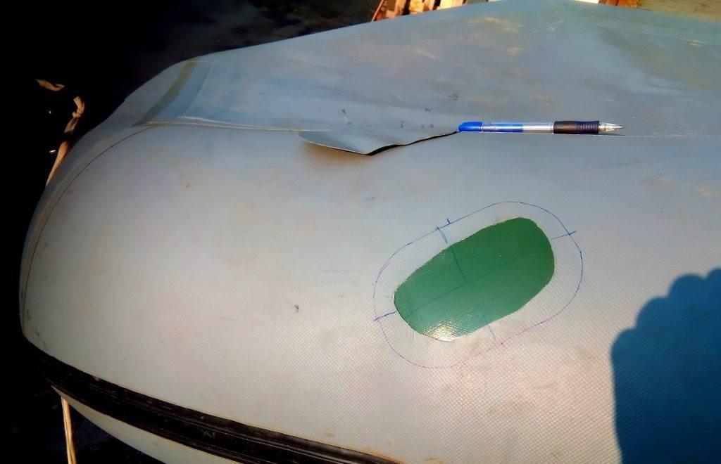 Как заклеить лодку пвх в домашних условиях: чем клеить