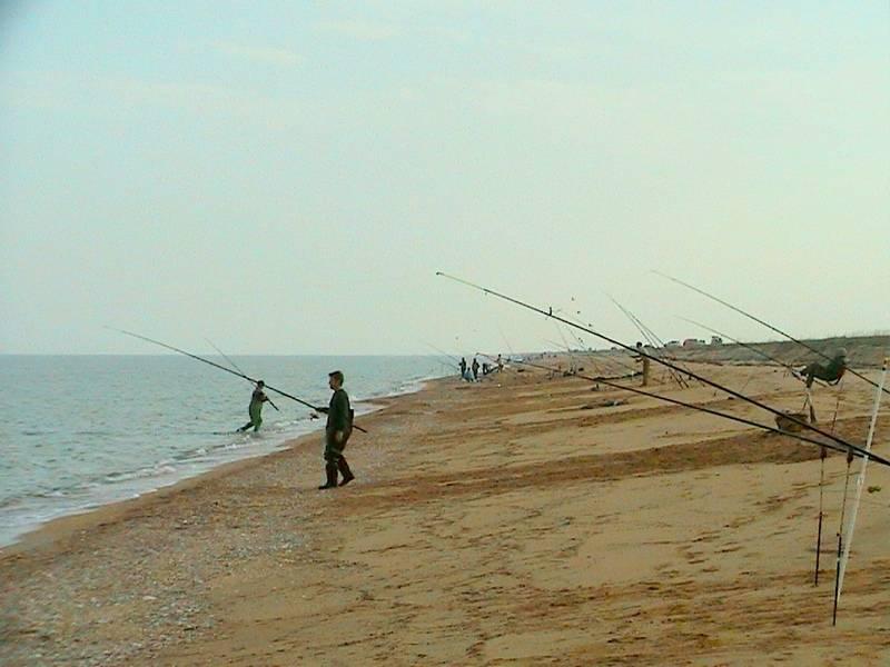 Рыбалка на азове
