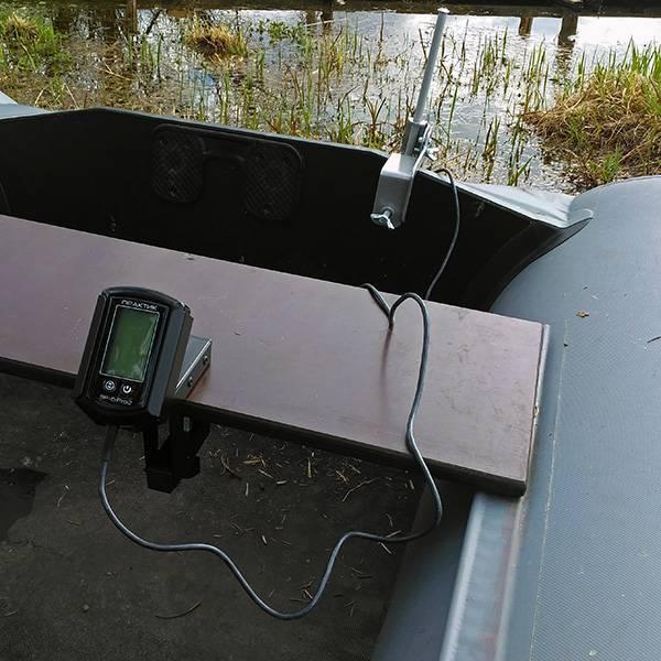 Установка эхолота на лодку пвх с мотором: как выполнить монтаж
