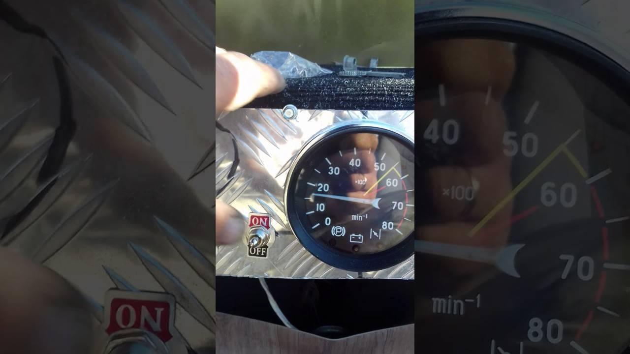 Тахометры для подвесных лодочных моторов - как подключить.