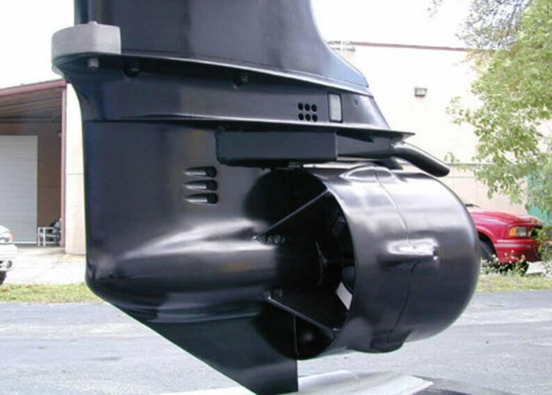 Водометные насадки на подвесных лодочных моторов - ямаха, сузуки, outboard jets и карась