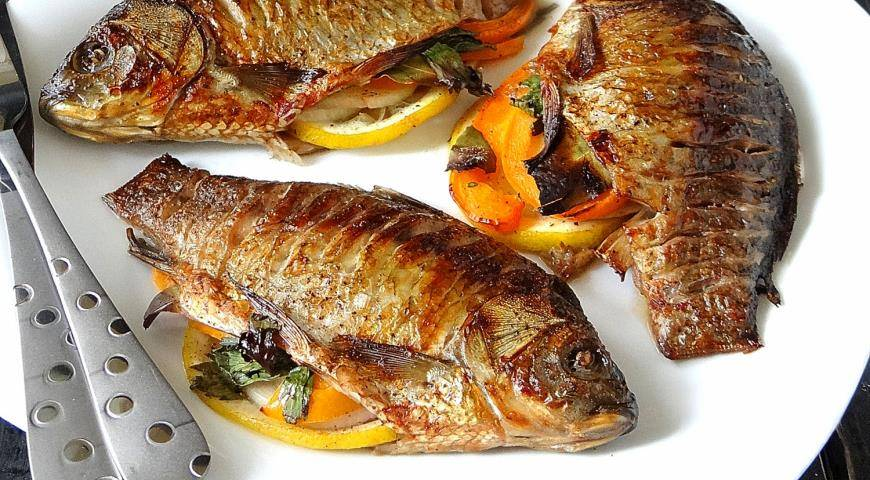 Окунь на гриле / блюда из речного окуня / tvcook: пошаговые рецепты с фото
