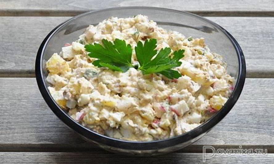 Рыбный салат с рисом – и в будни, и в праздник! рыбные салаты с рисом из консервированной, свежей, копченой, солёной рыбы - автор екатерина данилова - журнал женское мнение