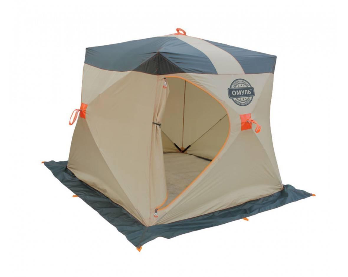 Кубик, зонтик, дуга, автомат: выбираем зимнюю палатку для рыбалки