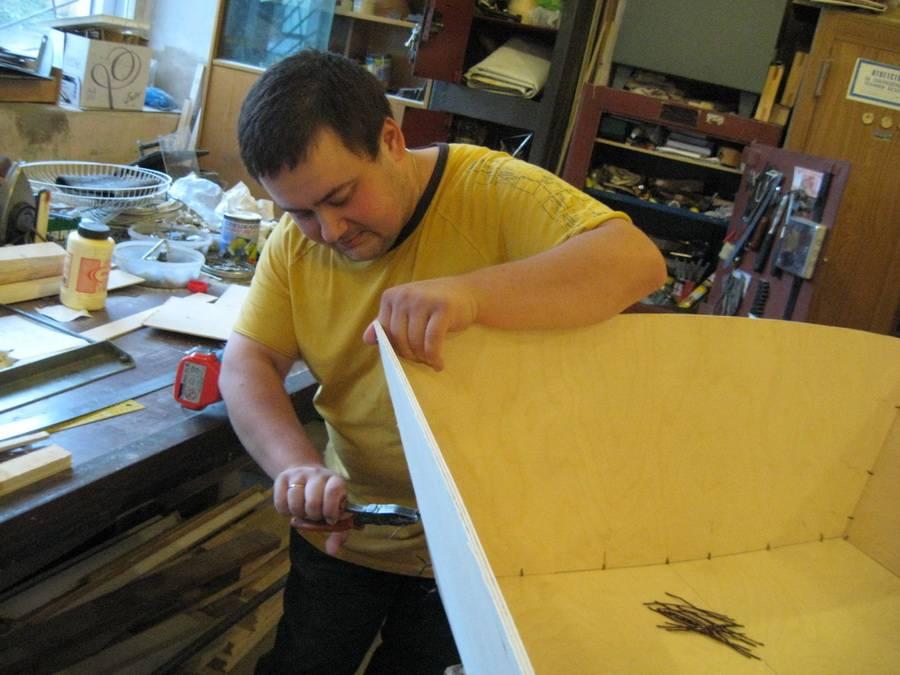 Лодка из фанеры своими руками: чертежи выкройки, как сделать самодельную фанерную лодку