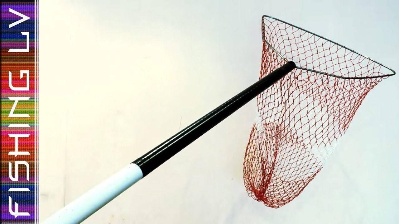 Подсак своими руками:  чертежи и рисунки, складной самодельный рыболовный подсачек. как сплести сетку?