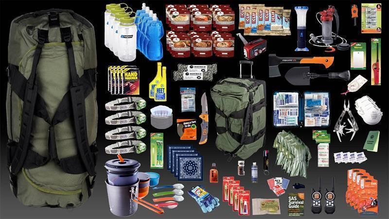 Набор для выживания в лесу: список вещей для выживания