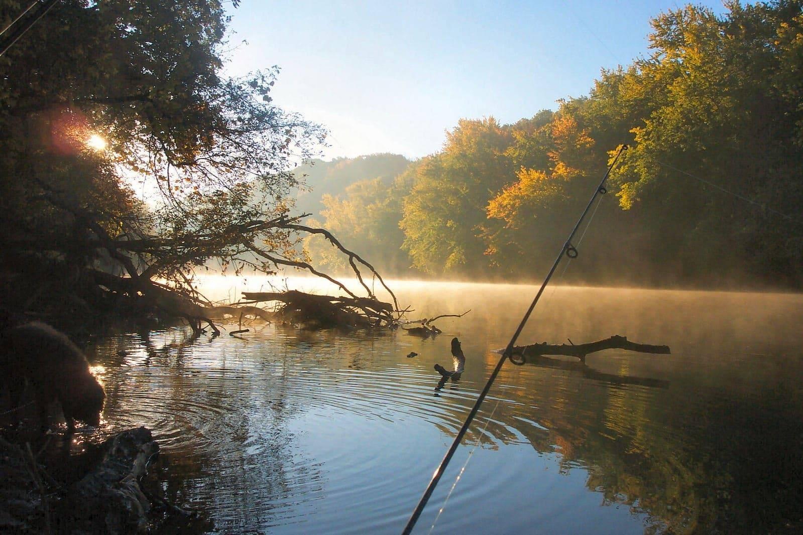 Рыбалка весной на волге