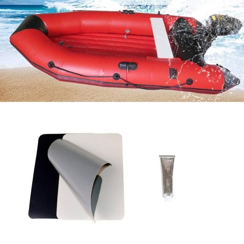 Как заклеить микропроколы и не нарушить внешний вид лодки