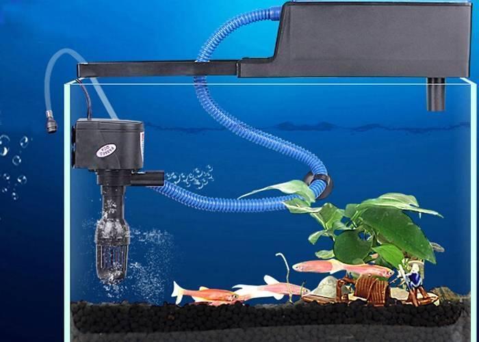 Принцип работы и нюансы выбора насосов для аквариума