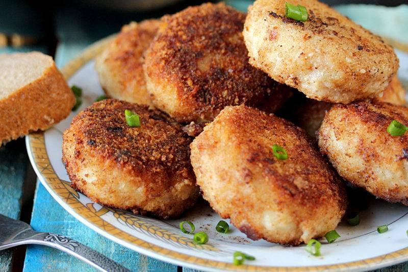 """Котлеты из щуки """"воздушные"""" – кулинарный рецепт"""