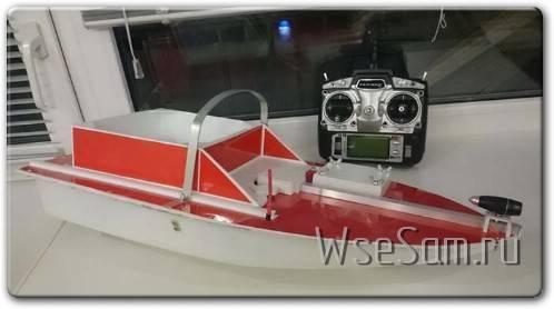 Самодельный радиоуправляемый катер для прикормки - все сам - сайт о самодельщиках и самоделках