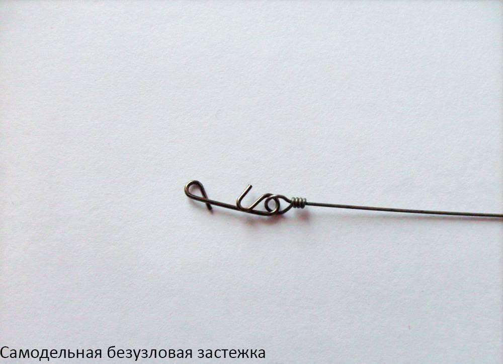 Достоинства и недостатки безузловой застежки для плетеного шнура