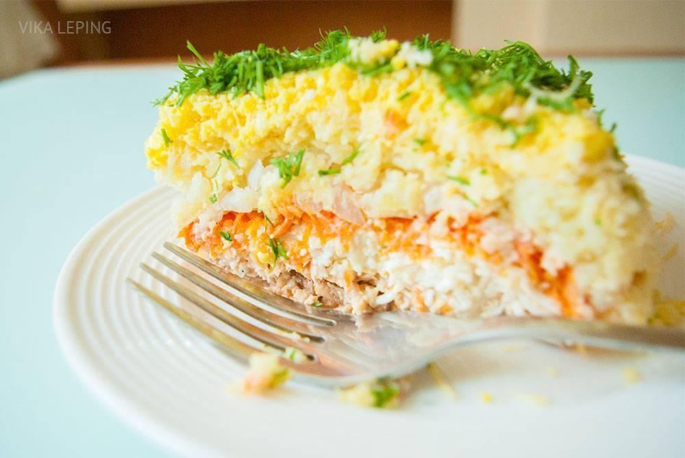 Салат мимоза с рыбными консервами: классический рецепт, как правильно приготовить