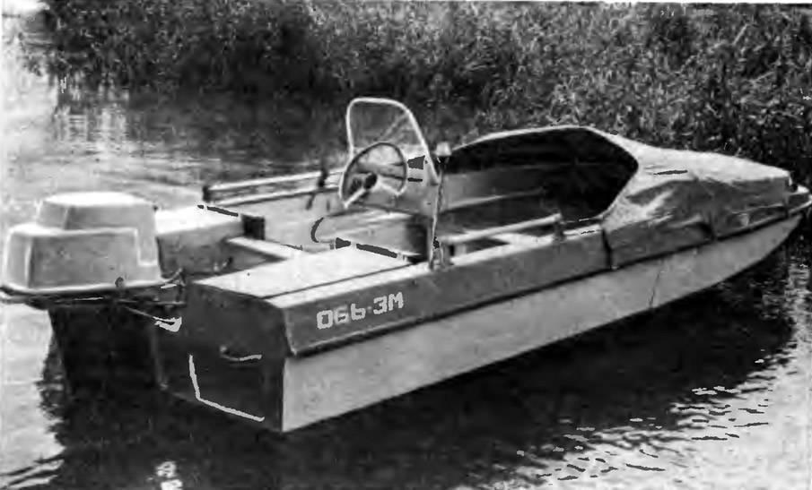 Лодка «Обь» – конструкция, характеристики. Лодки обь модельный ряд