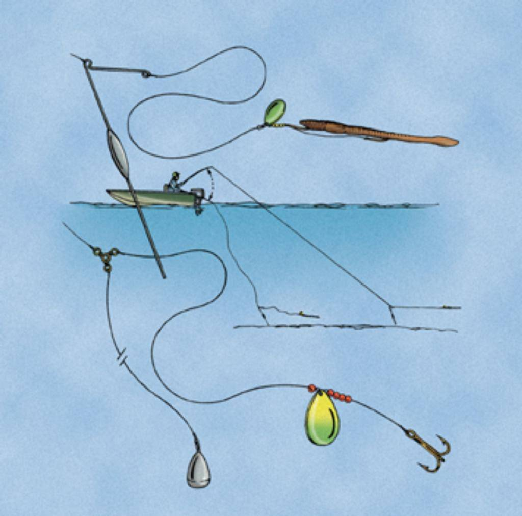 Зимняя ловля красноперки - на рыбалке!