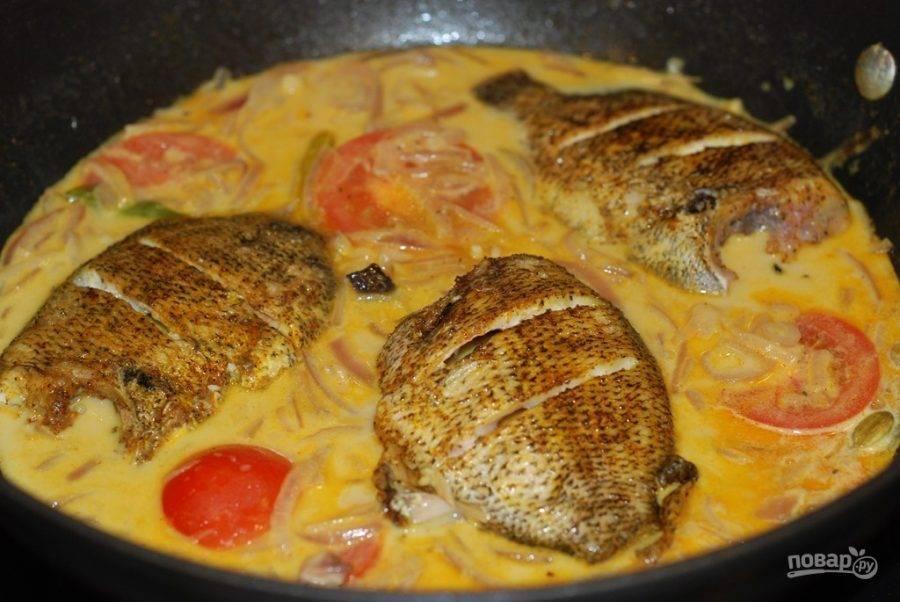Готовим морского окуня в духовке - 8 рецептов.
