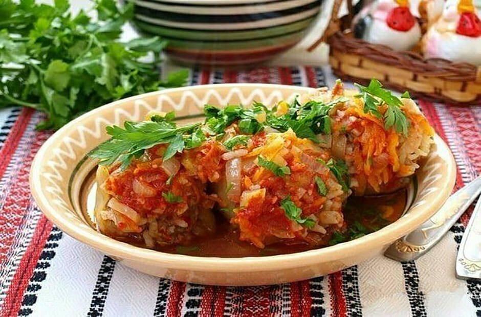 Перец фаршированный рисом (8 рецептов с фото) - рецепты с фотографиями на поварёнок.ру