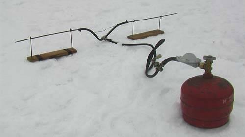 Самодельные снасти для зимней рыбалки