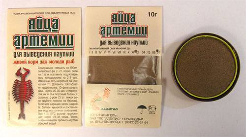 Артемия - корм для рыб (цисты, artemia salina, науплии, рачки): разведение в домашних условиях, замороженная, декапсулированная, корм для мальков, выращивание
