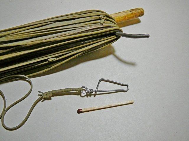 Особенности изготовления снасти резинка для рыбалки
