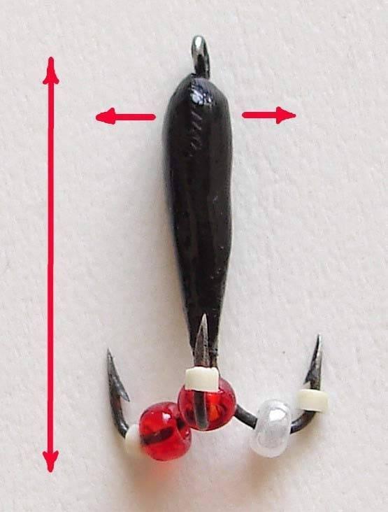 Мормышки для зимней рыбалки: виды безнасадочных, клоп, каля, нимфа
