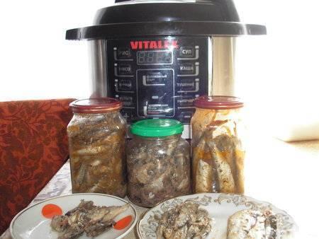 Консервы из скумбрии в мультиварке: рецепт скумбрии в масле на зиму | готовим в мультиварках