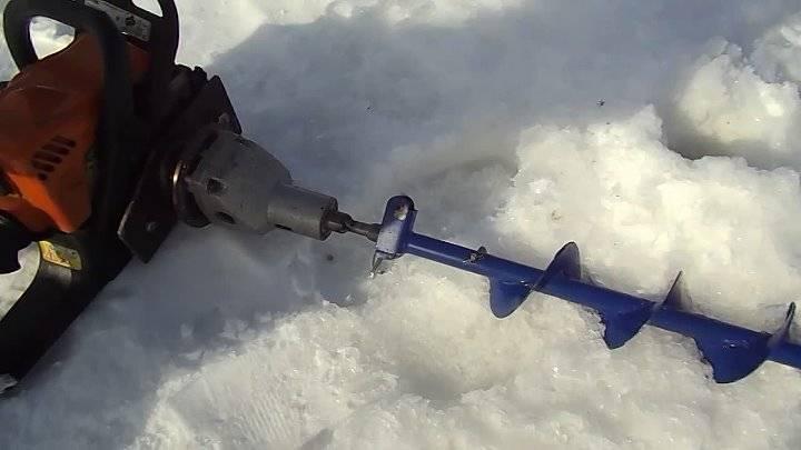 Как выбрать ледобур для зимней рыбалки