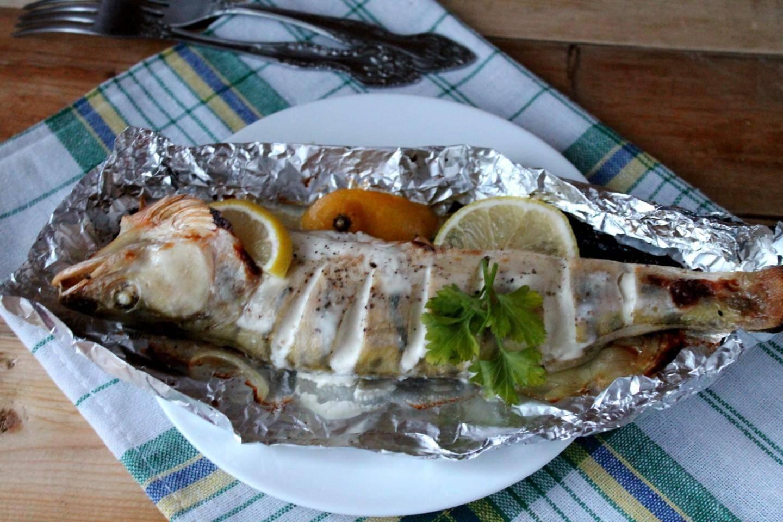 Судак, жареный на сковороде, с луком - 16 пошаговых фото в рецепте