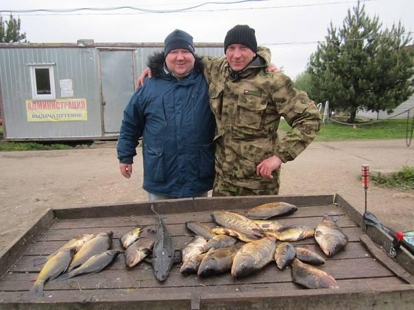 Платная рыбалка, обзор 17 – 25 января