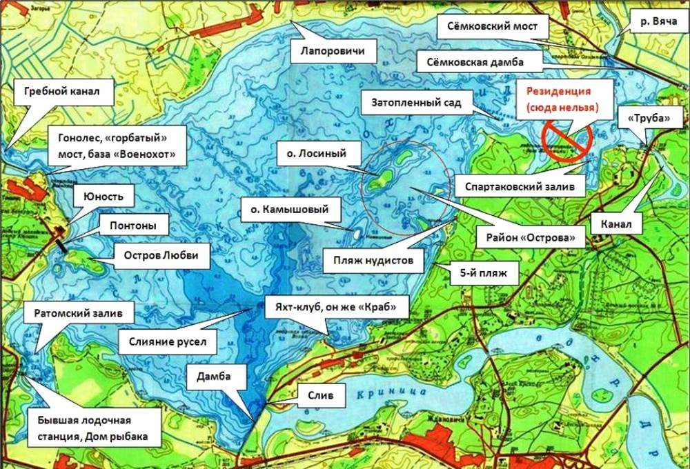 Цнянское водохранилище, минск. карта, пляжи, фото, беседки, рыбалка, видео, как доехать — туристер.ру