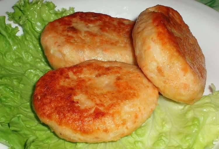 Котлеты из консервированного лосося