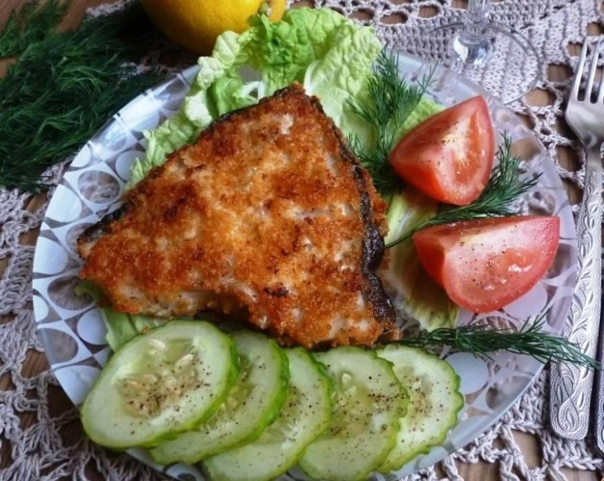 Зубатка синяя стейк: как приготовить в духовке, на сковороде, на пару, в мультиварке