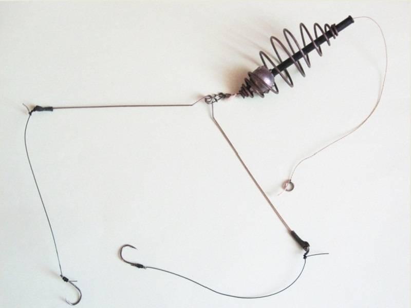 Изготовление донки с кормушкой из спиннинга своими руками и техника ловли