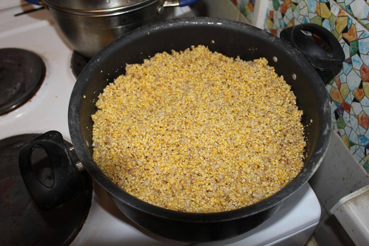 Как запарить пшеницу для рыбалки – способы приготовления