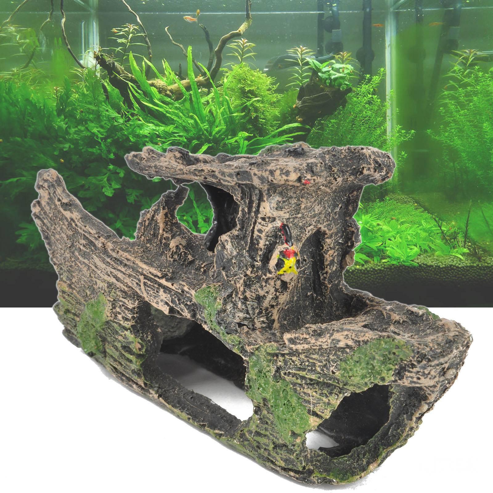Самодельный декор для аквариума из того что под рукой