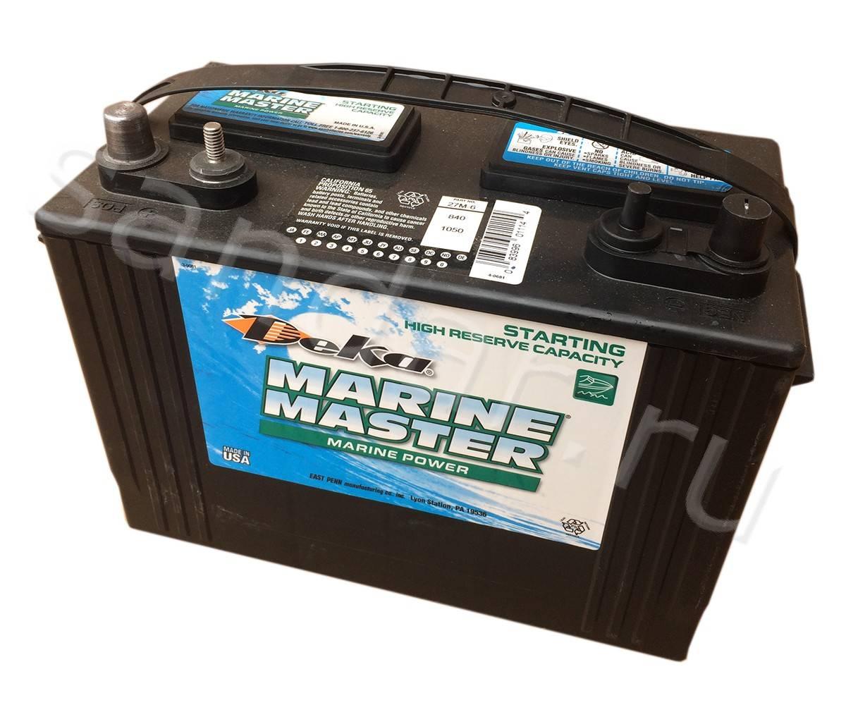 Тяговый аккумулятор: разновидности батарей для лодочных электромоторов, особенности выбора и применения акб