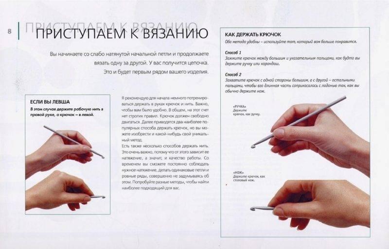Основы вязания крючком для начинающих со схемами и уроками на видео