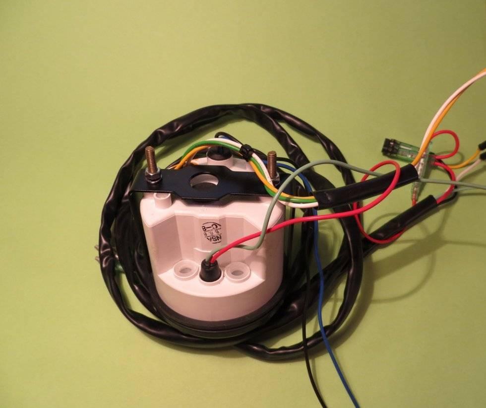 Установка и подключение тахометра своими руками для лодочного мотора