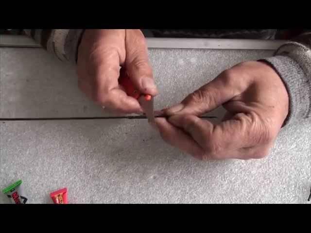 Как заменить тюльпан на спиннинге своими руками: инструкция