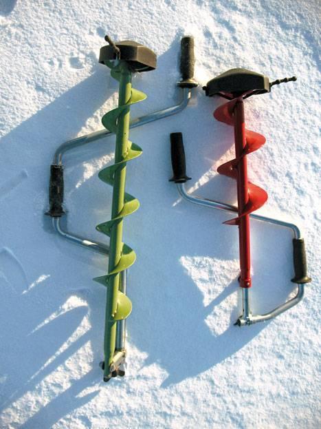 Ледобур для зимней рыбалки своими руками: способы изготовления