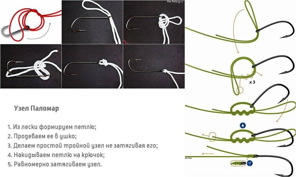 Узел паломар: как вязать, пошаговая схема вязки