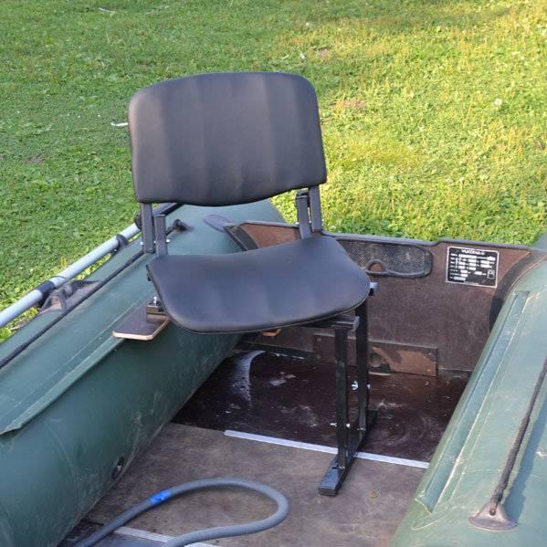 Сиденья и кресла в лодку: мягкое надувное сиденье для пвх-лодок и пластиковое поворотное кресло со спинкой, складные стулья и другие модели для рыбалки