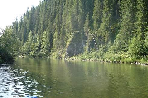 Река койва: местоположение, маршруты для сплава, особенности рыбалки, фото