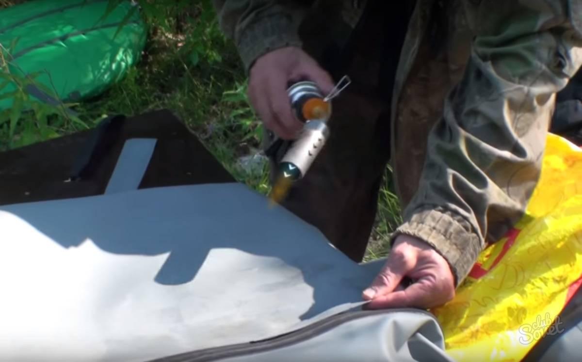 Каким клеем клеить лодку из пвх: какой клей лучше для резиновой лодки + отзывы