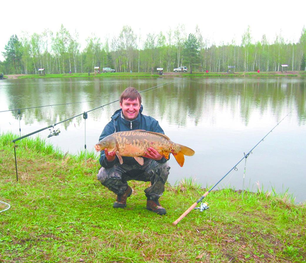 Рыбалка в Дятлово Клинского рыбхоза